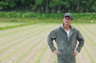 亜麻栽培農家について
